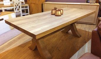 Xero X-Leg Oak Table