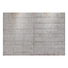 Concrete Blocks Modern Minimalist Photo Wall Mural, 368x254 cm
