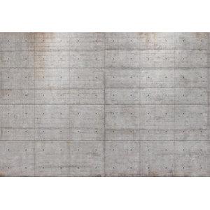 Concrete Blocks Modern Minimalist Photo Wall Mural, 368x254 cm