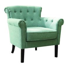 Homelegance Barlowe Accent Chair Blue