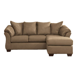 Marvelous Emma Mason Signature Allgood Sofa Chaise In Cobblestone Dailytribune Chair Design For Home Dailytribuneorg