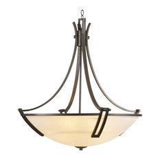 Highland 5-Light Chandelier, A19 Bulb