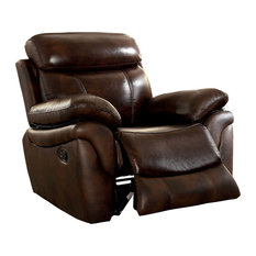 chair and a half recliner modern furniture of america ecommerce by enitial lab uzo transitional top grain leather recliner 50 most popular chair and half recliners for 2018 houzz