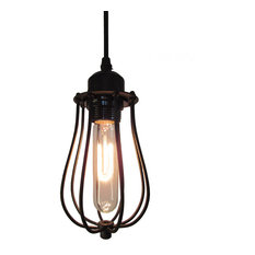 Battery operated pendant lights houzz lamps next rusty bud pendant light matte black pendant lighting mozeypictures Choice Image