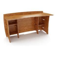 edge desktop adjustable electric desks space standing height zen bamboo with product up ergo stand desk