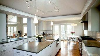Sleek Comfortable Modern Kitchen