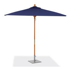 6' Square Sunbrella Market Umbrella, Navy Blue