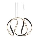 Modern Pendant Lamp Black incl. LED - Rowana