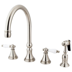Parmir Single Hole Single Handle Kitchen Faucet 2 Transitional