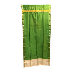 Mogul Interior - Saree Drapes Panels, Green - Curtains