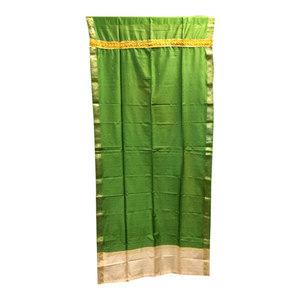 Mogul Interior - Saree Drapes Panels, Green - Curtains