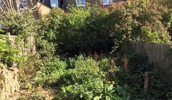 Garden Landscaping in Hampstead, London NW3, UK