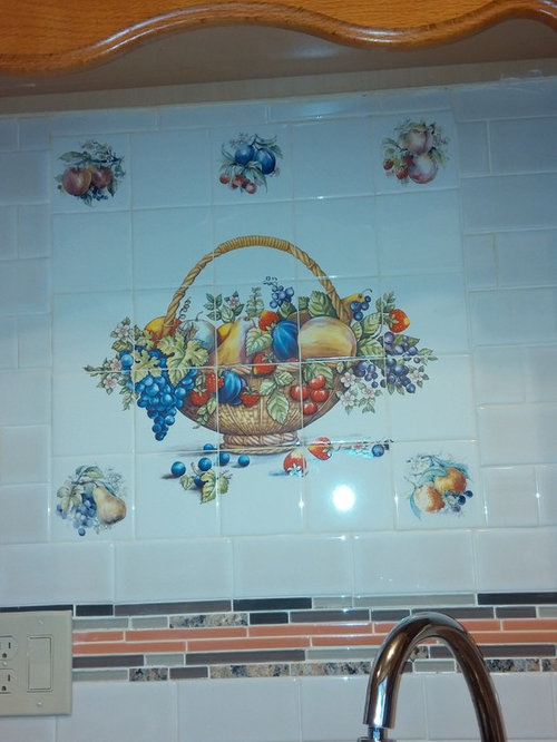 Ceramic Tile Decor Kiln Fired Made in Ohio U.S.A.