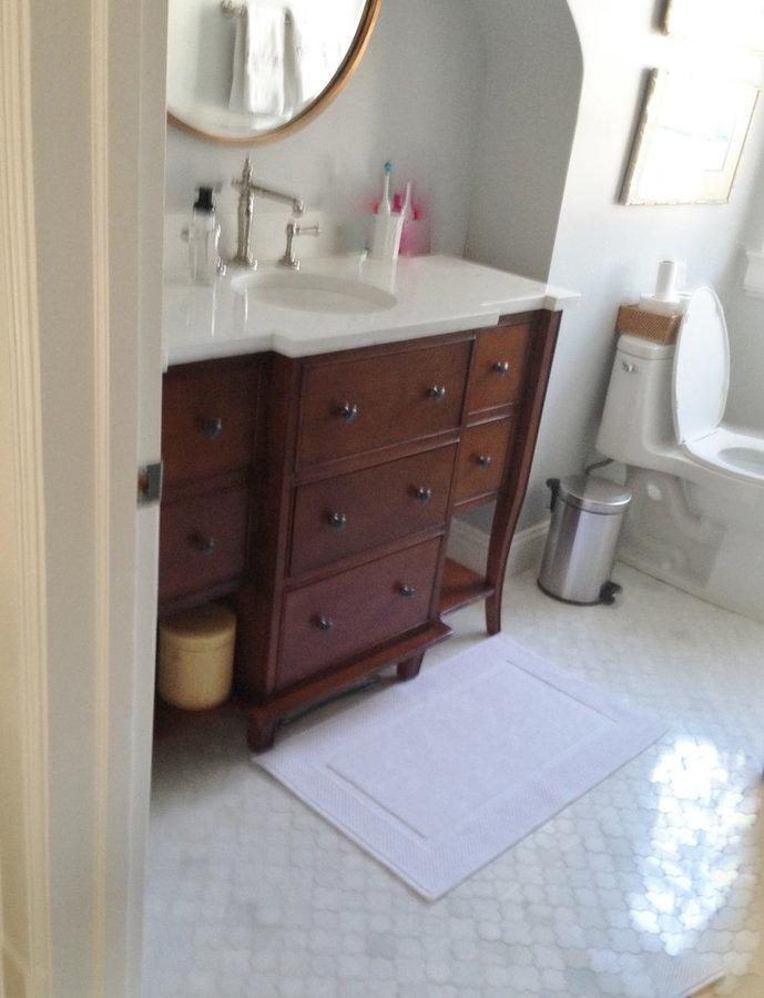 Guest Bathroom in Progress