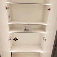 LUXURY CUSTOM BUILT DRAWS, SHELVING'S, FRENCH GLASS & PATIO DOOR