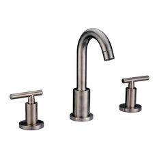 three hole bathroom sink faucet. DAWN  Dawn 3 Hole 2 Handle Faucet Brushed Nickel Bathroom Sink Faucets Houzz
