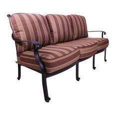 Irvine Deep Seating Sofa, With Cushion