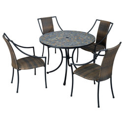 New Tropical Outdoor Dining Sets by Home Styles Furniture