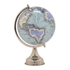 """Globe , Blue, 18.5"""""""