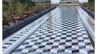 Victorian Style Mosaic Pathway