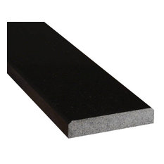 Premium Blk 4X36X.75 Dbl Bevel Polished Granite Thresholds And Sills