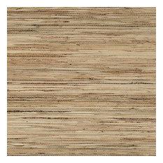 Natural Raw Jute Grasscloth Wallpaper, Tan/White, Bolt