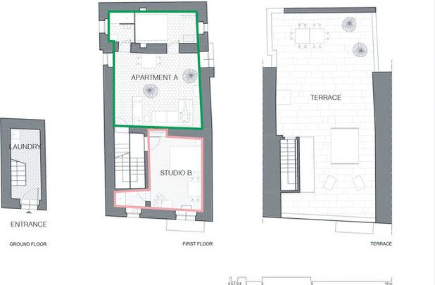 Planimetria Le case di Houzz: Casa al Forte