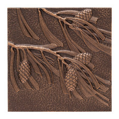 Whitehall Products Pinecone Wall Decor Antique Copper Metal Art