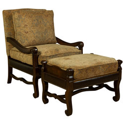 Transitional Armchairs And Accent Chairs by Clearwater American Furniture