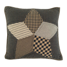 """Farmhouse Star 16""""x16"""" Quilted Pillow"""