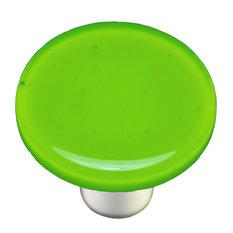 Spring Green Knob Round, Alum Post