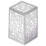 Artkalia - Artkalia Kalis Kubbica Cordless LED Table Lamp - The Artkalia Kalis Kubbica  will appease any rooms and it a perfect addition on any table you put it on with its contemporary  patterns engraved on a tower stainless steel body.