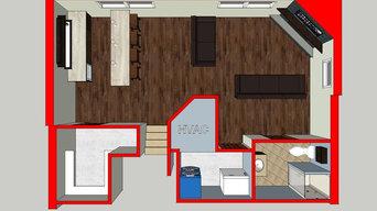 South Princeton Basement Remodel