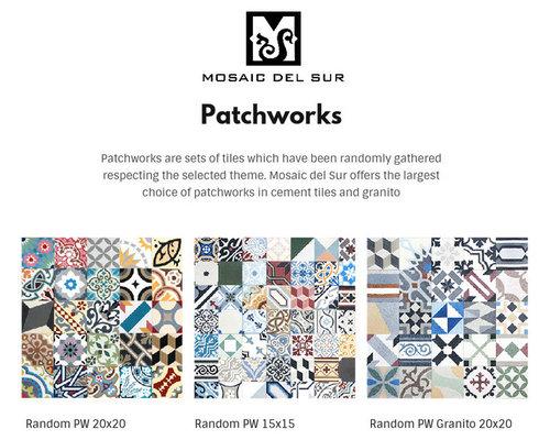 les patchwork mosaic del sur. Black Bedroom Furniture Sets. Home Design Ideas