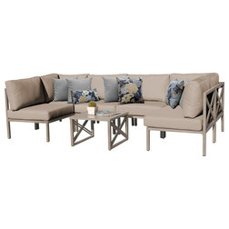 Transitional Outdoor Lounge Sets by Design Furnishings