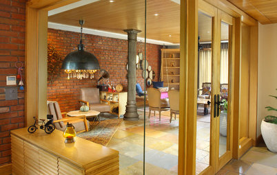 Delhi Houzz: Natural and Raw Finishes Score High in This Family Home