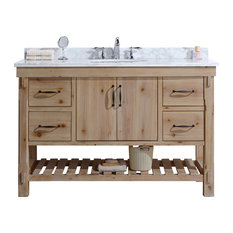 Swell 50 Most Popular Natural Wood Bathroom Vanities For 2019 Houzz Home Interior And Landscaping Ponolsignezvosmurscom