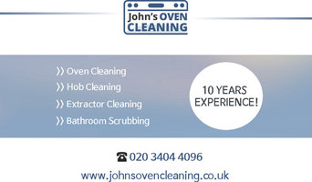 Oven Cleaning in Slough