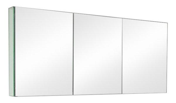 "Fresca FMC8019 60"" Triple Door Frameless Medicine Cabinet - Contemporary - Medicine Cabinets ..."