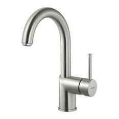 Vitale Bar Faucet With CeraDox Technology, Brushed Nickel