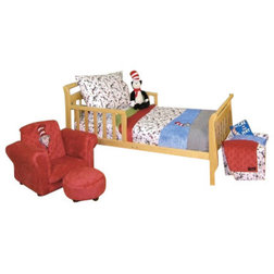 Awesome Contemporary Toddler Bedding Dr Seuss Cat in the Hat Toddler Bedding Piece
