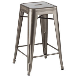 Industrial Bar Stools And Counter Stools by Plata Import