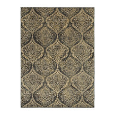 "Oriental Weavers Stratton Blue Ivory Area Rug, 4960C, 3'3""x5'5"""