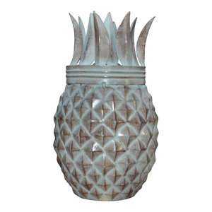 Legends Maui Tiki Style Torch Set of 2 Outdoor Lighting Oil lamp Landscape Torch Legends Direct Bronze Pineapple