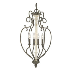 French Country Pendant Lights Houzz - French country pendant lighting