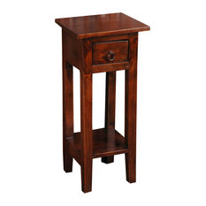 Cottage Narrow Side Table, Old Java
