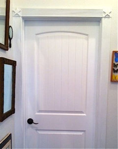 Simple  make my corner door and window trim Very custom touch for hardly any money Buying those things can turn into serious money quickly