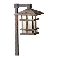 """Kichler 15322 Cross Creek 27"""" Xenon Path Lantern - Bronze"""