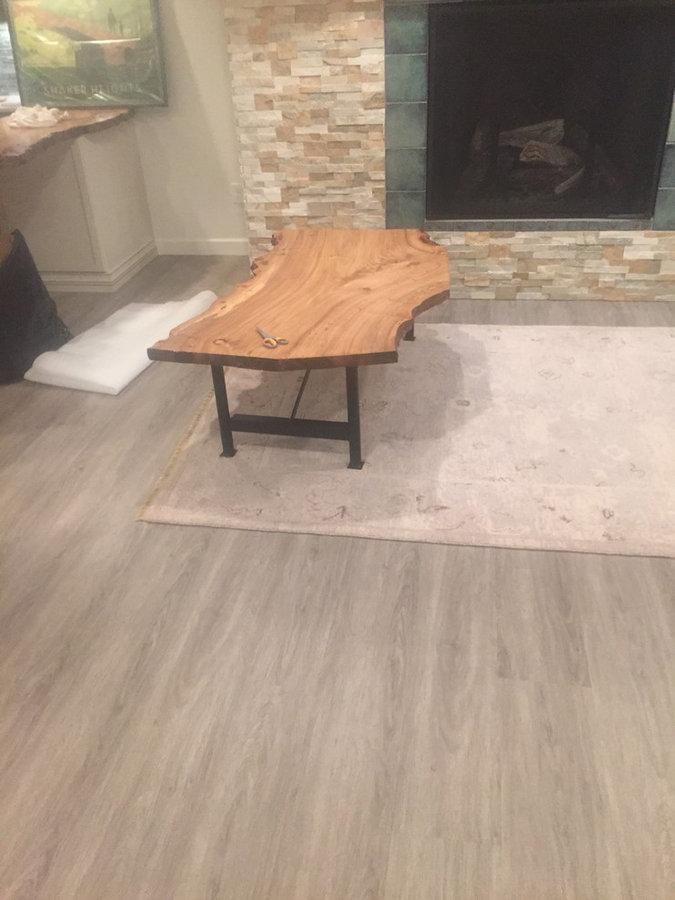 Custom live edge #coffee table