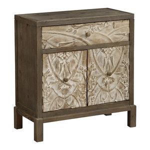 1-Drawer 2-Door Cabinet